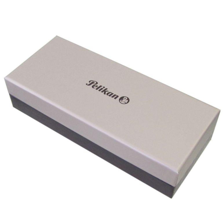 ペリカン ボールペン メンズ レディース スーベレーン K805 ツイスト式 ブラック ストライプ 高級筆記具 名入れ無料 純正箱付
