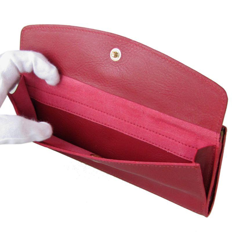 イルビゾンテ 長財布 がま口 メンズ レディース バケッタスレザー ROSSO ロッソ C1157 EP 245