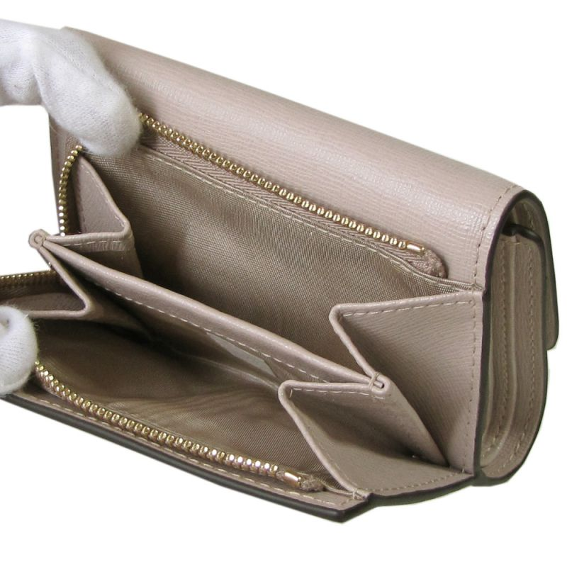 フルラ FURLA バビロン トライフォールド S 3つ折り財布 コンパクトウォレット 992591 DALIA ベージュ