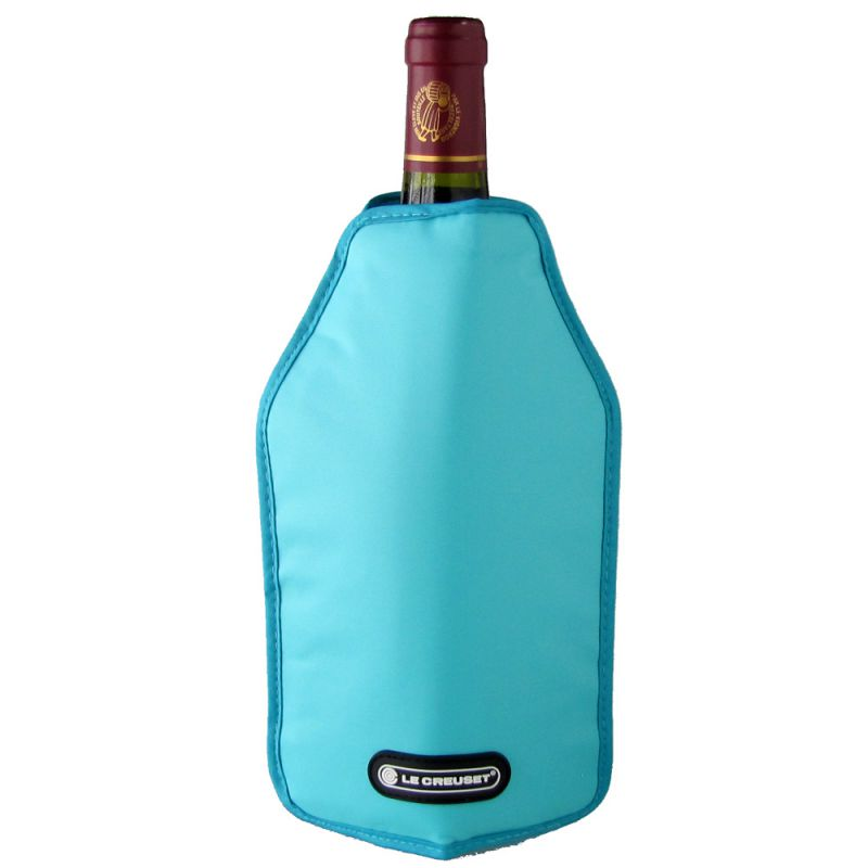 メール便可275円 ル・クルーゼ ワインクーラースリーブ ルクルーゼ ワインアクセサリー ワイングッズ キッチン用品 ティール WA 126 59142014306068