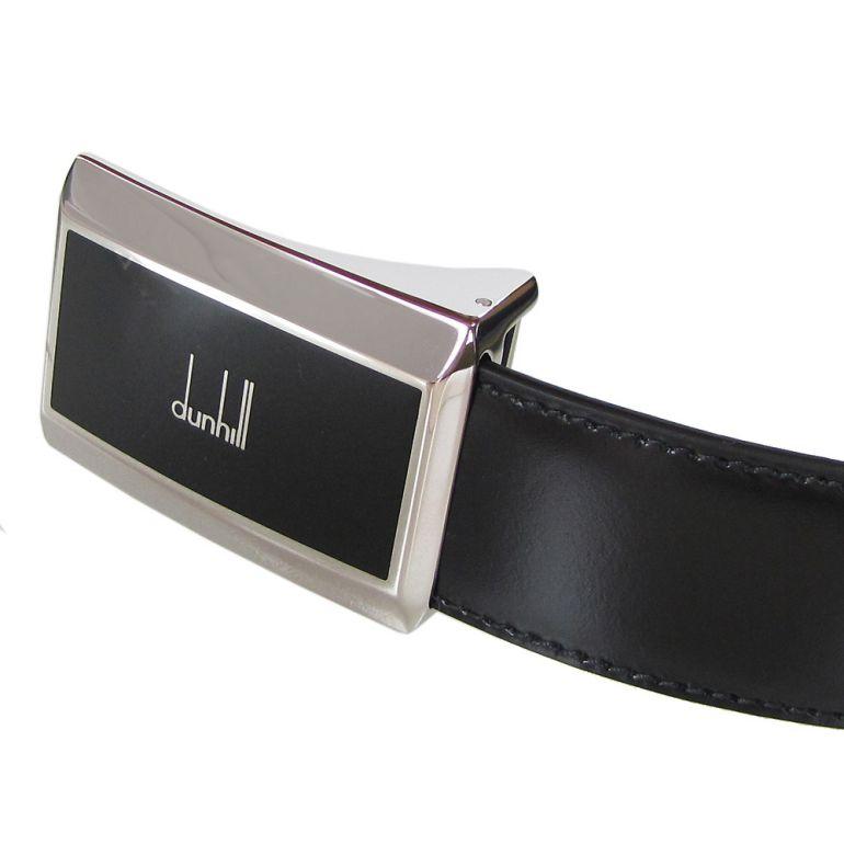 ダンヒル ベルト メンズ 幅3cm リバーシブル ストリンガシステム対応 レザー ブラック 18F4P03SM001