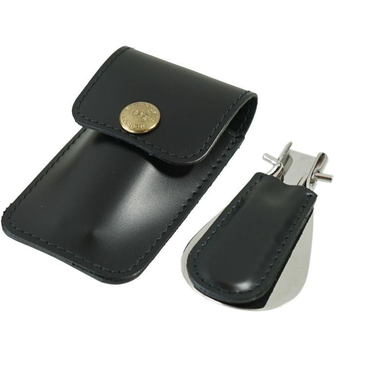 エッティンガー ETTINGER 靴ベラ 携帯ポーチ シューホーン メンズ BH298JR BK ブラック