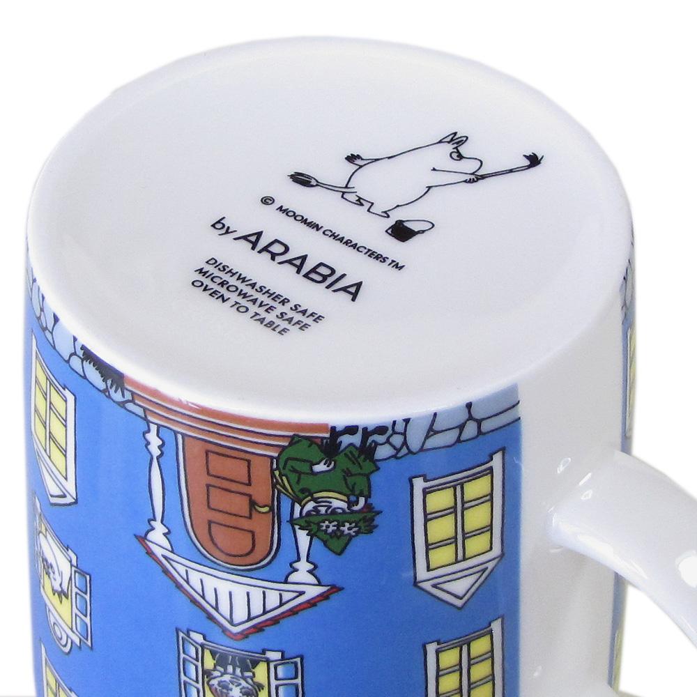 アラビア ARABIA マグカップ 300ml ムーミンコレクション ムーミンハウス ムーミン屋敷 MOOMINHOUSE ムーミン誕生70周年記念 1015964