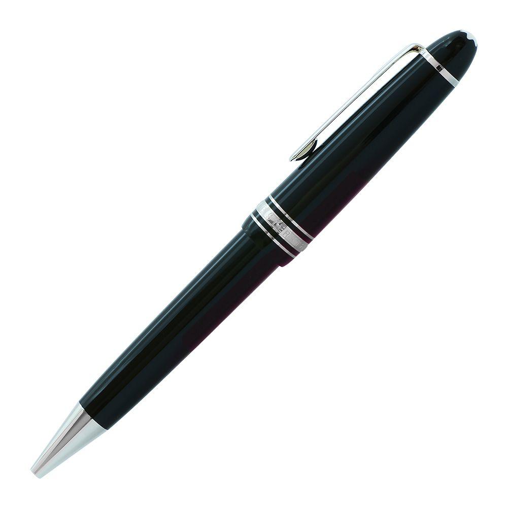 モンブラン ボールペン マイスターシュテュック プラチナ ル・グラン ブラック×シルバー 7569 P161 高級筆記具 名入れ可有料