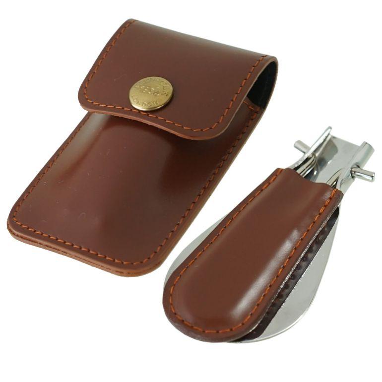 エッティンガー ETTINGER 靴ベラ 携帯ポーチ シューホーン メンズ BH298JR HAVANA ハバナ