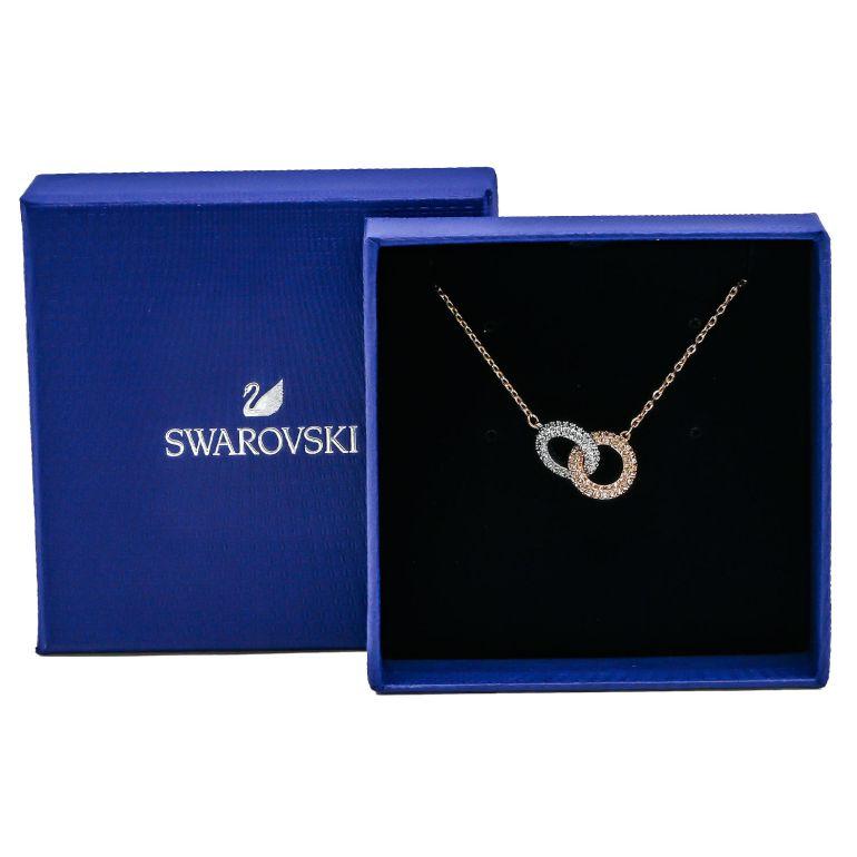 スワロフスキー SWAROVSKI ネックレス レディース STONE ストーン シルバー ローズゴールド×シルバー 5414999