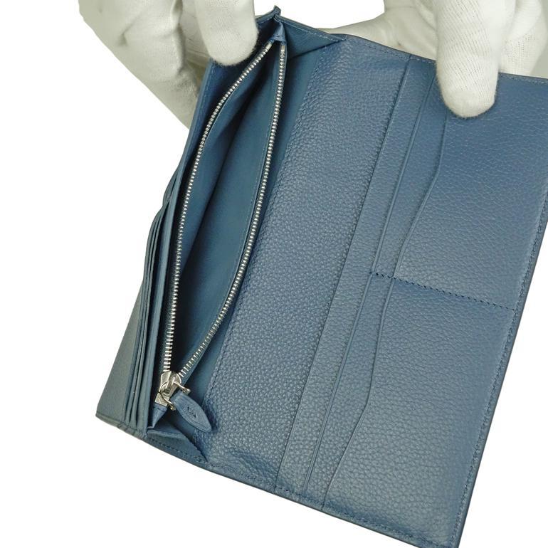 【名入れ可有料】 ダンヒル DUNHILL 長財布 メンズ ボストン BOSTON ブルー L2Y310D