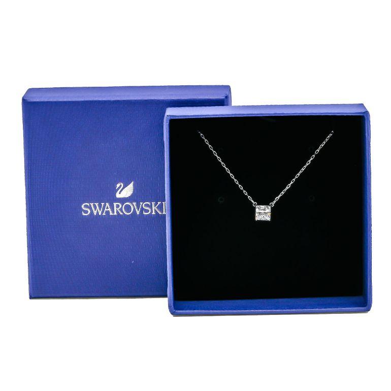 スワロフスキー SWAROVSKI ネックレス レディース Attract necklace アトラクト シルバー クリア 5510696