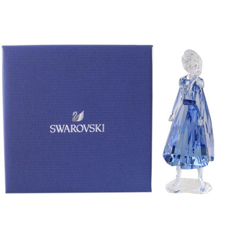 スワロフスキー SWAROVSKI クリスタルフィギュア アナと雪の女王2 エルサ Disney ディズニー オブジェ 置物 5492735