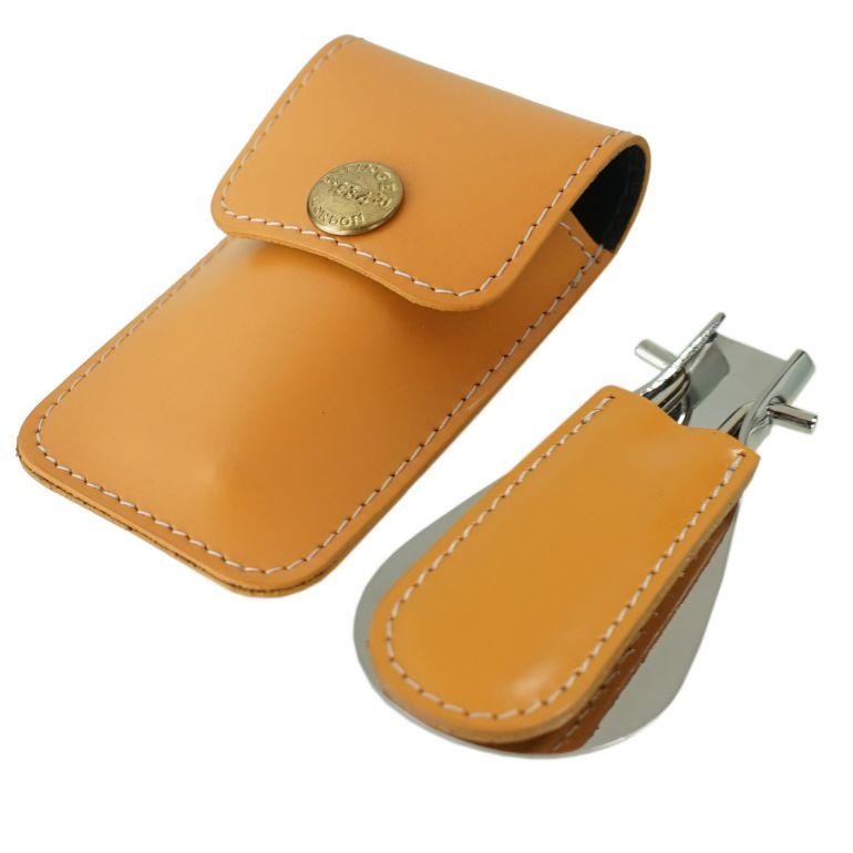 エッティンガー ETTINGER 靴ベラ 携帯ポーチ シューホーン メンズ BH298JR TAN タン