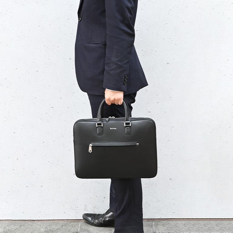 ポールスミス バッグ メンズ ビジネスバッグ ブリーフケース ブラック 5742 A40190 79