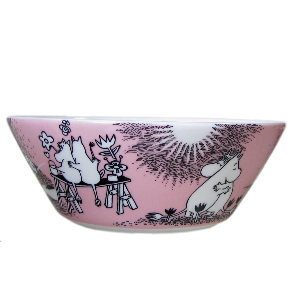 アラビア ARABIA ボウル 絵皿 深皿 ムーミンコレクション ラブ LOVE トーベ・ヤンソン 1005317
