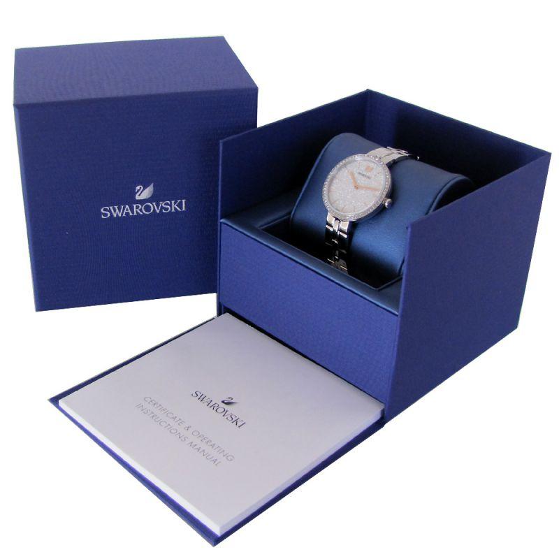 スワロフスキー SWAROVSKI 腕時計 レディース シルバー ブレスレットウォッチ COSMOPOLITAN 5517807