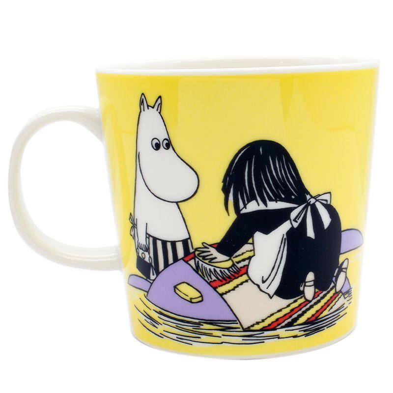 アラビア ARABIA マグカップ 300ml ムーミンコレクション ミーサ イエロー 1052344