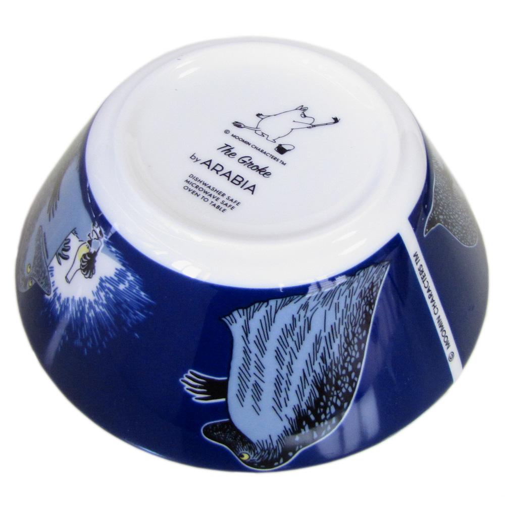 アラビア ARABIA ボウル 絵皿 深皿 ムーミンコレクション モラン THE GROKE トーベ・ヤンソン 1005578