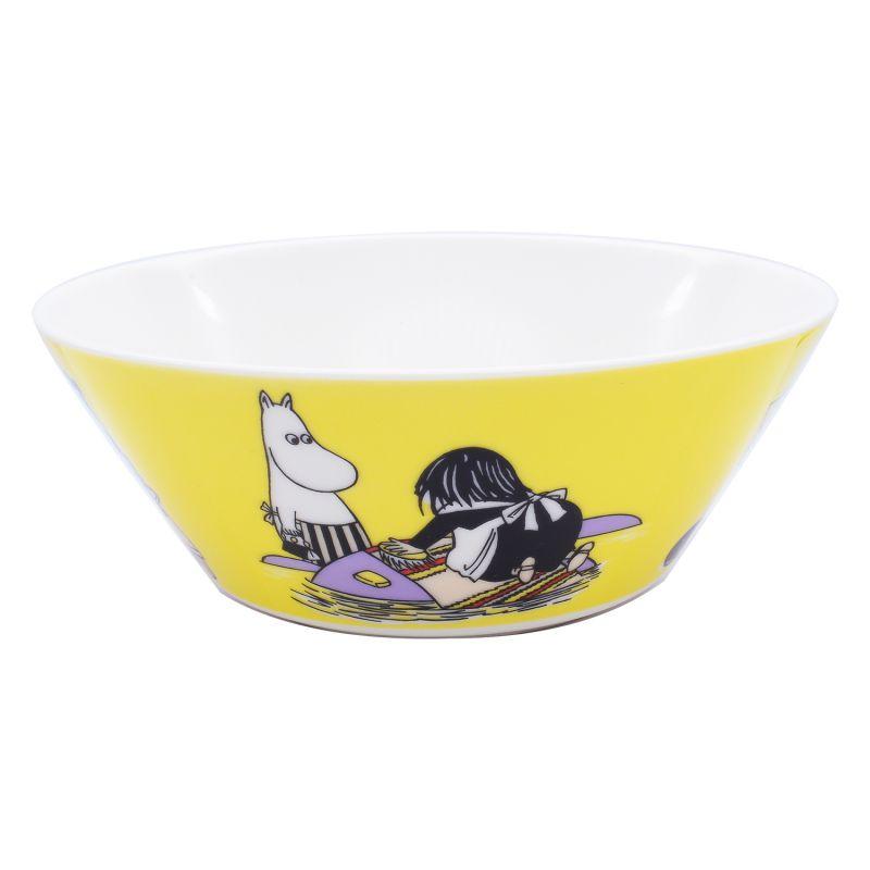 アラビア ARABIA ボウル 絵皿 深皿 ムーミンコレクション ミーサ イエロー 1052346