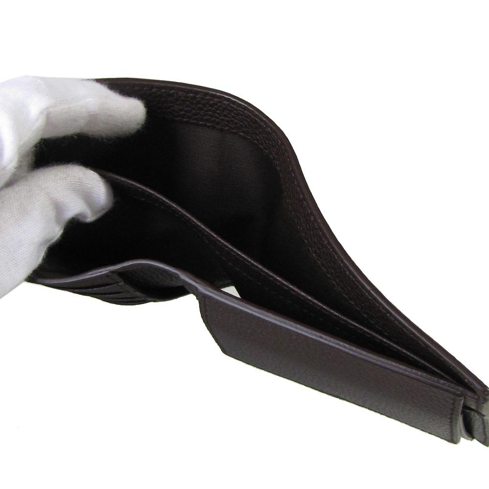 【名入れ可有料】 ダンヒル dunhill 2つ折り財布 メンズ ベルグレイヴ ダークチョコレート 19F2320AR205