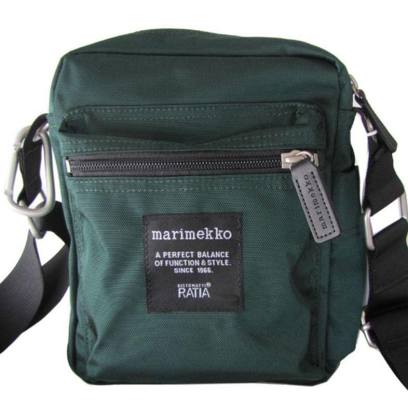 マリメッコ バッグ ショルダーバッグ Cash&Carry グリーン 047539 066