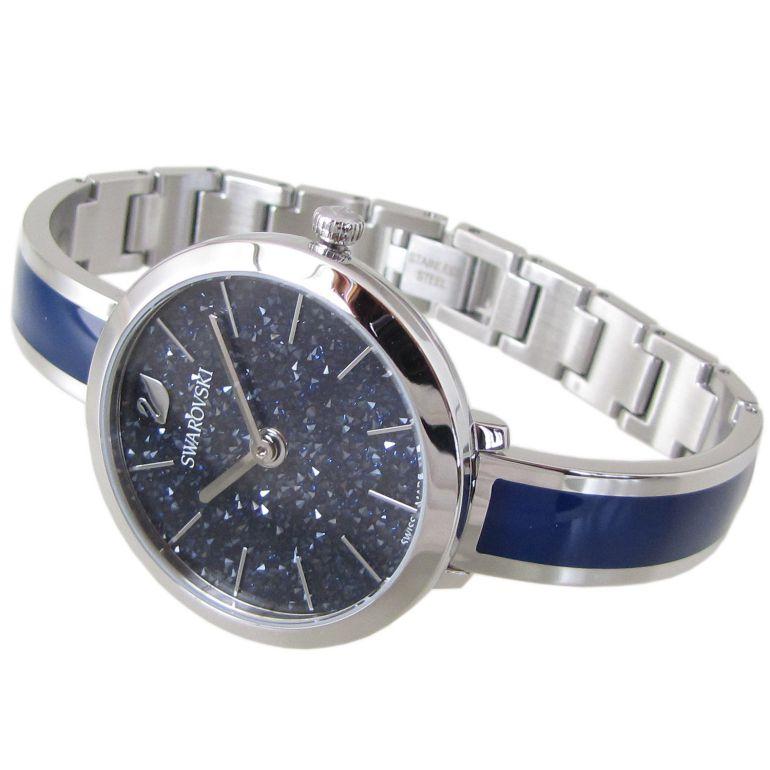 スワロフスキー SWAROVSKI 腕時計 CRYSTALLINE DELIGHT ウォッチ レディース シルバー/ブルー 5580533