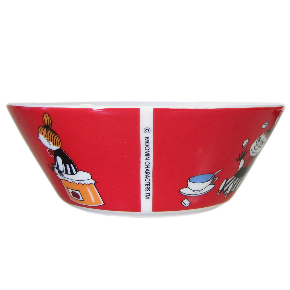 アラビア ARABIA ボウル 絵皿 深皿 ムーミンコレクション ちびのミイ リトルミイ トーベ・ヤンソン 1015553