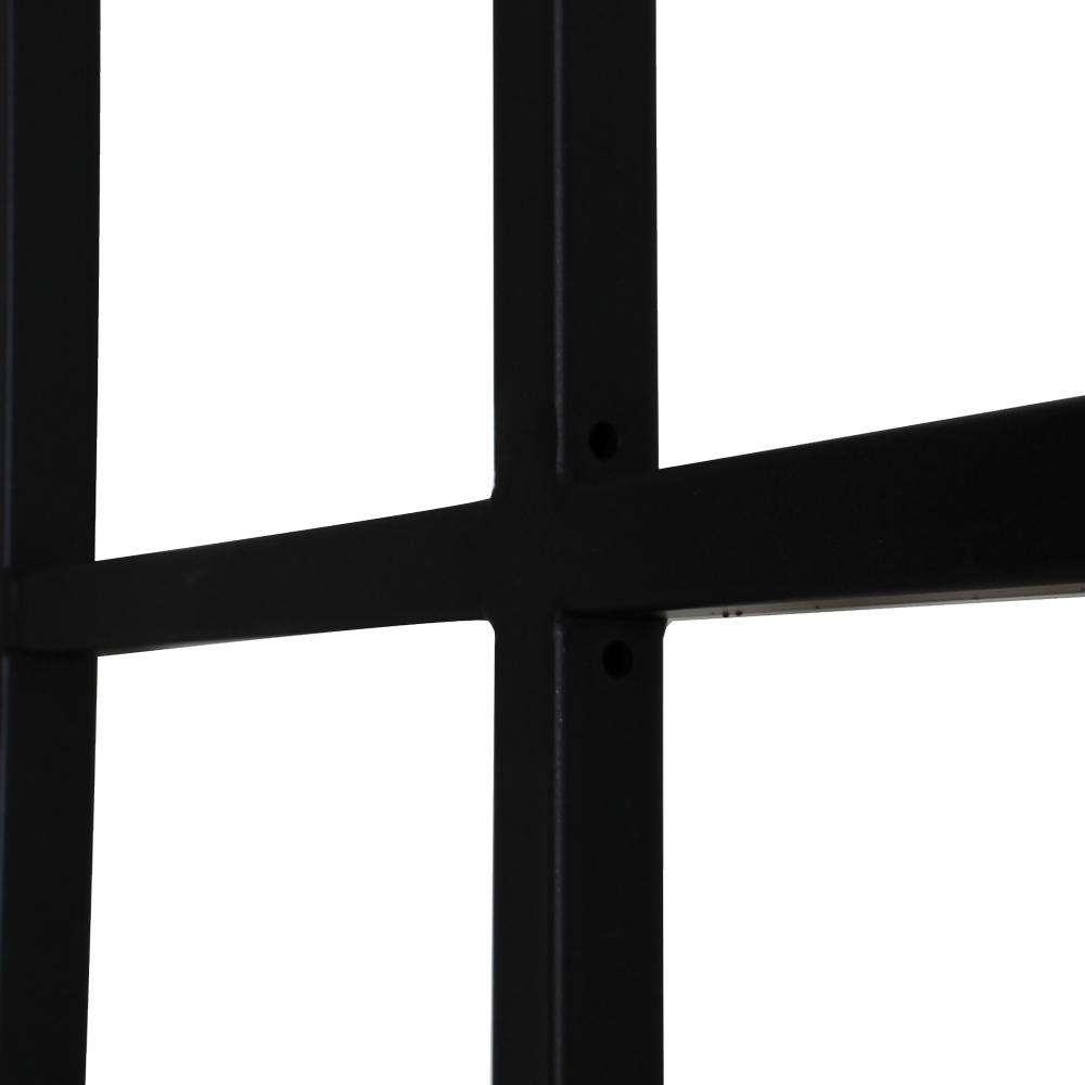 格子スクリーン ブラック
