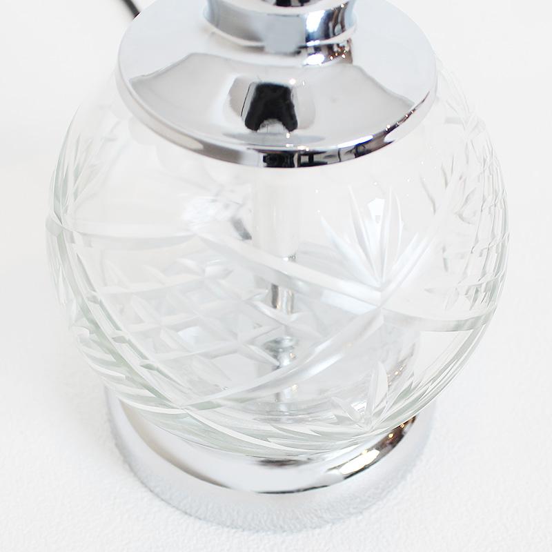 ガラスドーム テーブルランプ