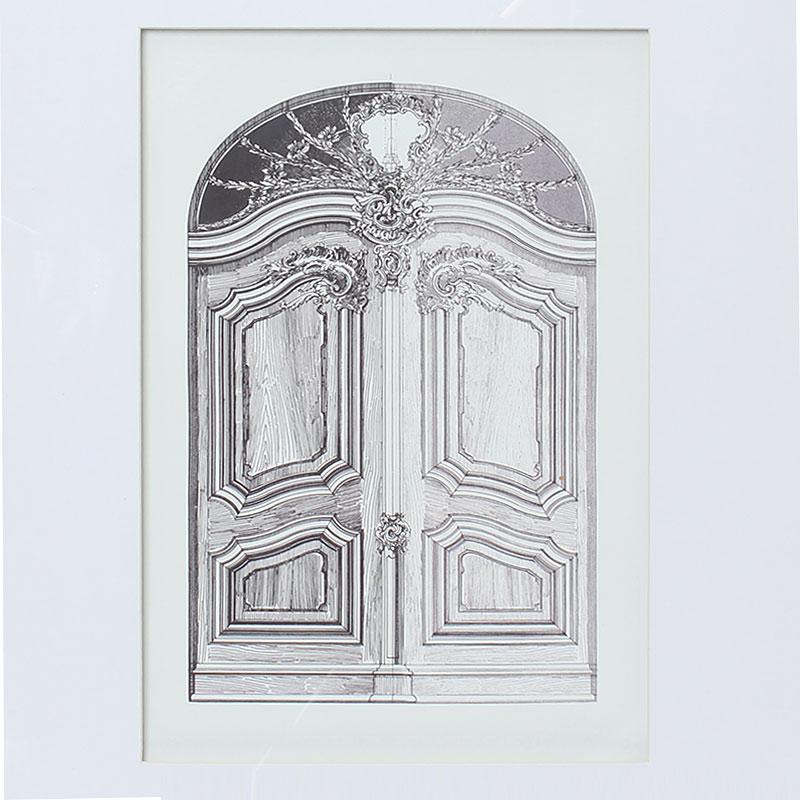 アートパネル【DOOR/Flower】