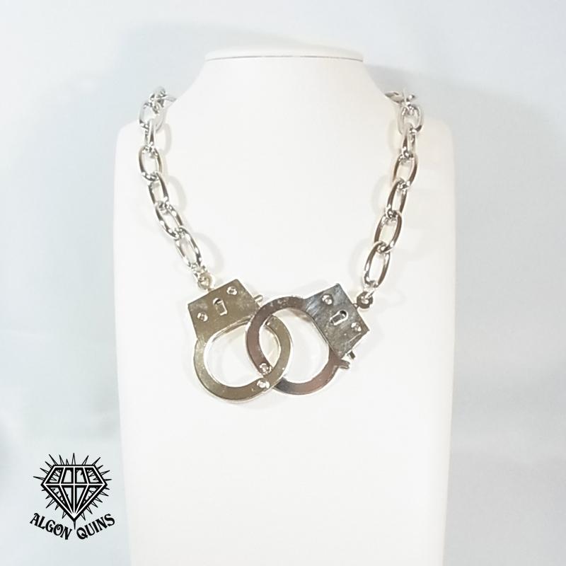 (196N-0013) 手錠(大)ネックレス