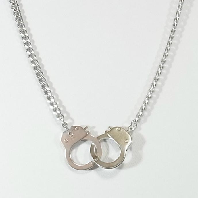 (196N-0014) 手錠(中)ネックレス