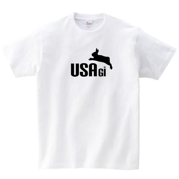 うさぎ グッズ おもしろ tシャツ ウサギ 雑貨 オリジナル メンズ レディース S M L XL 3L 4L プリント 服 面白い 可愛い おしゃれ かわいい 動物