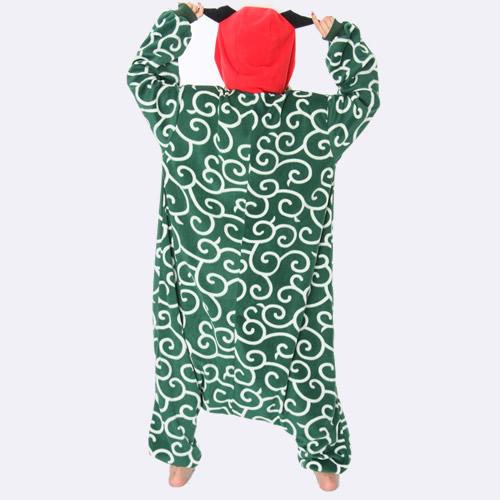 獅子舞 シシマイ 着ぐるみ パジャマ 大人用 コスプレ フリース生地 衣装 干支