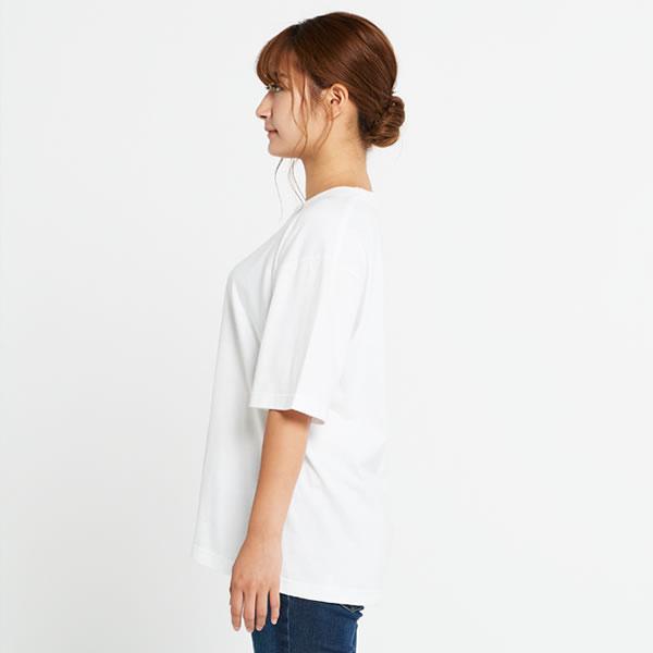 ビックシルエットTシャツ メンズ レディース ビックシルエット Tシャツ 半袖 無地 大きいサイズ ゆったり カットソー おしゃれ かわいい ビッグシルエット