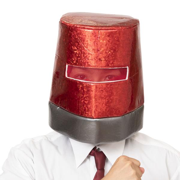 パトランプ かぶりもの キャップ パトランプマン 被り物 かわいい 帽子 コスプレ マラソン 衣装 映画泥棒 仮装 パーティーグッズ マスク 可愛い おもしろ コスチューム