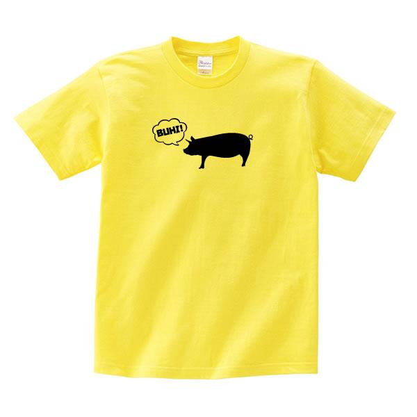 豚 グッズ ブタ tシャツ ぶた プリント 可愛い 雑貨 S M L XL  服 メンズ レディース 衣装 おもしろ雑貨 おもしろtシャツ