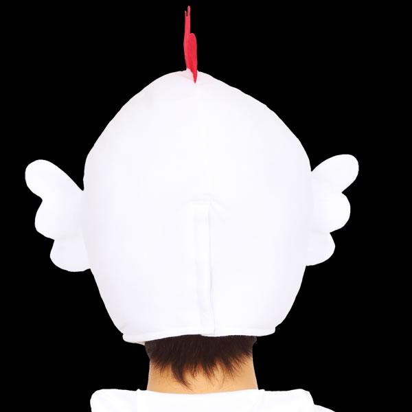 にわとり かぶりもの 干支 ロックンコケコッコー ニワトリ 帽子 着ぐるみ コスプレ キャップ マスク 干支 コスチューム マラソン 衣装 仮装 コスプレ