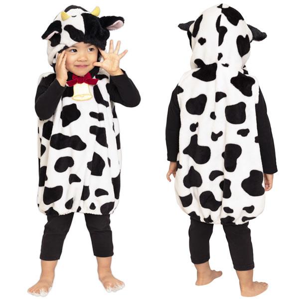 牛 コスプレ 着ぐるみ 赤ちゃん 子供 キッズ 干支 グッズ かぶりもの コスチューム 男の子 女の子 年賀状 被り物 ハロウィン 衣装 仮装 マシュマロうし ベビー