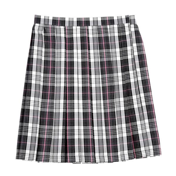 制服 コスプレ スカート プリーツスカート チェック グレー/ピンク 女子高生 制服 スカート Teens Ever2017SS