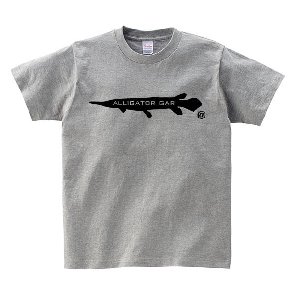 アリゲーターガー グッズ 古代魚 tシャツ 魚 雑貨 面白い プリント かわいい  S M L XL  服 メンズ レディース 衣装 おもしろ雑貨 おもしろtシャツ