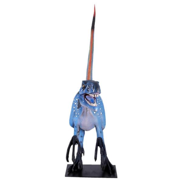 恐竜 ディノニクスオブジェ 置物 ディスプレー オーナメント 代金引換不可 ディスプレイ FRP制 リアル 実物大 等身大