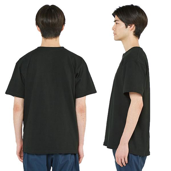 ヘンリーネックtシャツ 半袖 ヘンリーネック メンズ レディース 無地 カットソー トップス おしゃれ 白tシャツ 黒 白  綿 コットン半袖 無地 綿 大きいサイズ シンプル おしゃれ 着回し 白tシャツ 赤 青 黒 白 緑 紫 オレンジ ピンク 綿 コットン