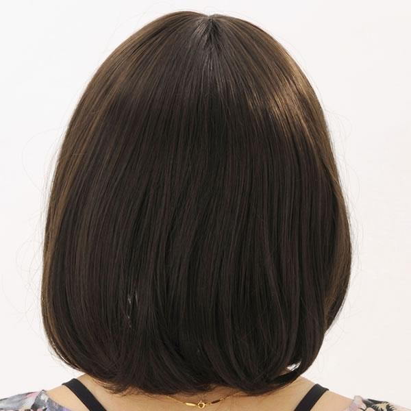 ウィッグ ボブ ショート 耐熱 フルウィッグ ソフトボブ ナチュラル コスプレ 自然 wig かつら WIGGY RICH