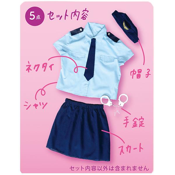 ポリス コスプレ レディース 半袖 かわいい 警官 コスチューム 警察 衣装 ミニスカポリス ジャパニースポリス トキメキグラフィティ