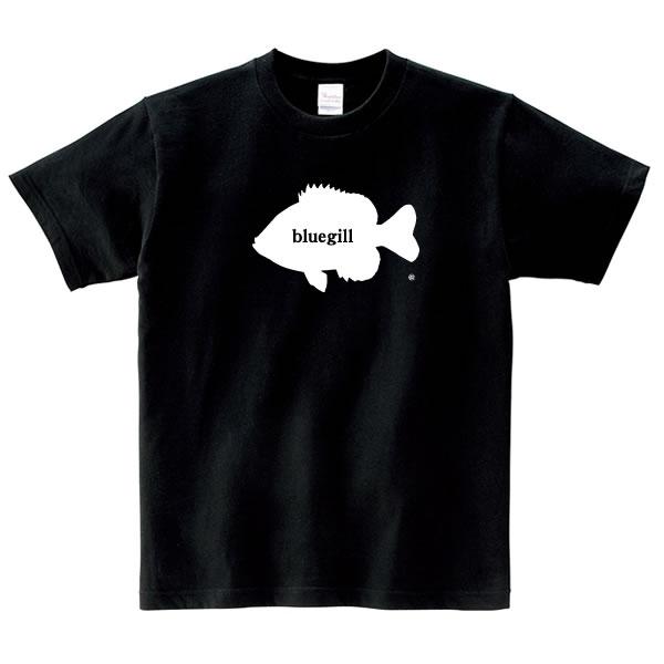 ブルーギル tシャツ グッズ ブルーギル釣り おもしろ 雑貨 オリジナル メンズ レディース S M L XL 3L 4L プリント 面白い 可愛い おしゃれ かわいい 魚 川