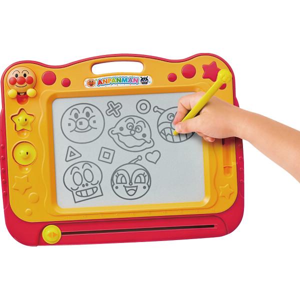 お絵かき アンパンマン 天才脳らくがき教室  それいけ アンパンマン 知育玩具 こども 子供 知育 勉強 1歳6ヶ月 お祝い 出産祝い 誕生日 プレゼント