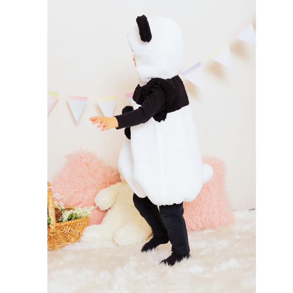 可愛い パンダ グッズ コスプレ 着ぐるみ 子供 コスチューム マシュマロ Baby 80 サイズ ハロウィン 衣装 赤ちゃん ハロウィン キッズ 仮装