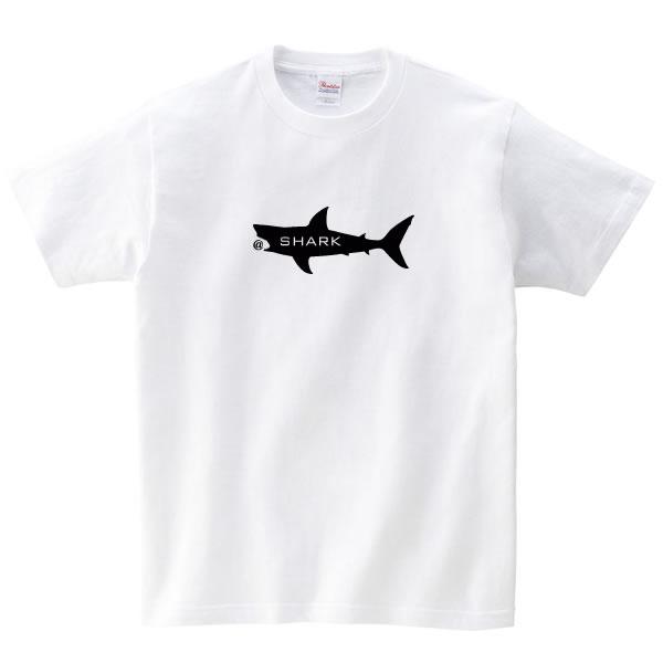 サメ グッズ tシャツ 雑貨 ジョーズ プリント S M L XL  服 メンズ レディース 衣装 おもしろ雑貨 おもしろtシャツ