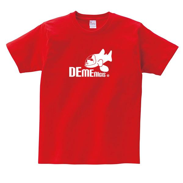 デメニギス グッズ tシャツ おもしろ 雑貨 オリジナル メンズ レディース S M L XL 3L 4L プリント 服 可愛い おしゃれ かわいい 海
