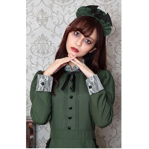 洋館メイド 衣装 クラシック メイド服 ロング クラシカル コスプレ 長袖 可愛い メイド 衣装