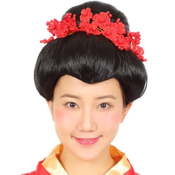 玉ねぎ頭 徹子ヘアー 芸者 かつら 日本髪 カツランド