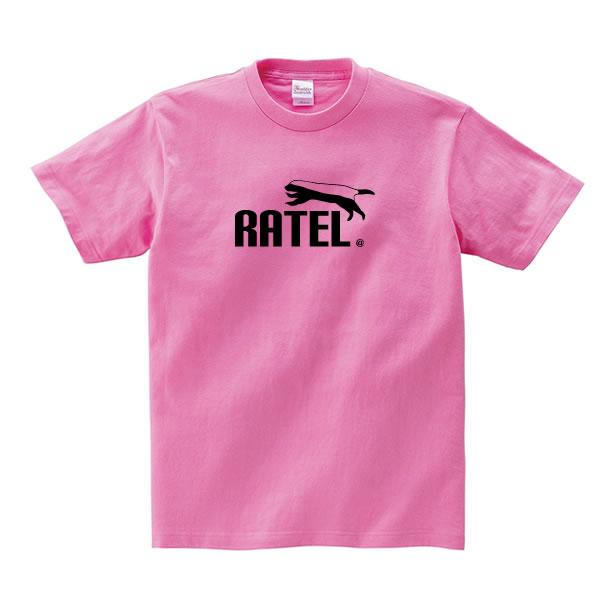 ラーテル tシャツ グッズ メンズ レディース 動物 雑貨 オリジナル 服 S M L XL 3L 4L プリント 可愛い おもしろ おしゃれ かわいい ギフト プレゼント